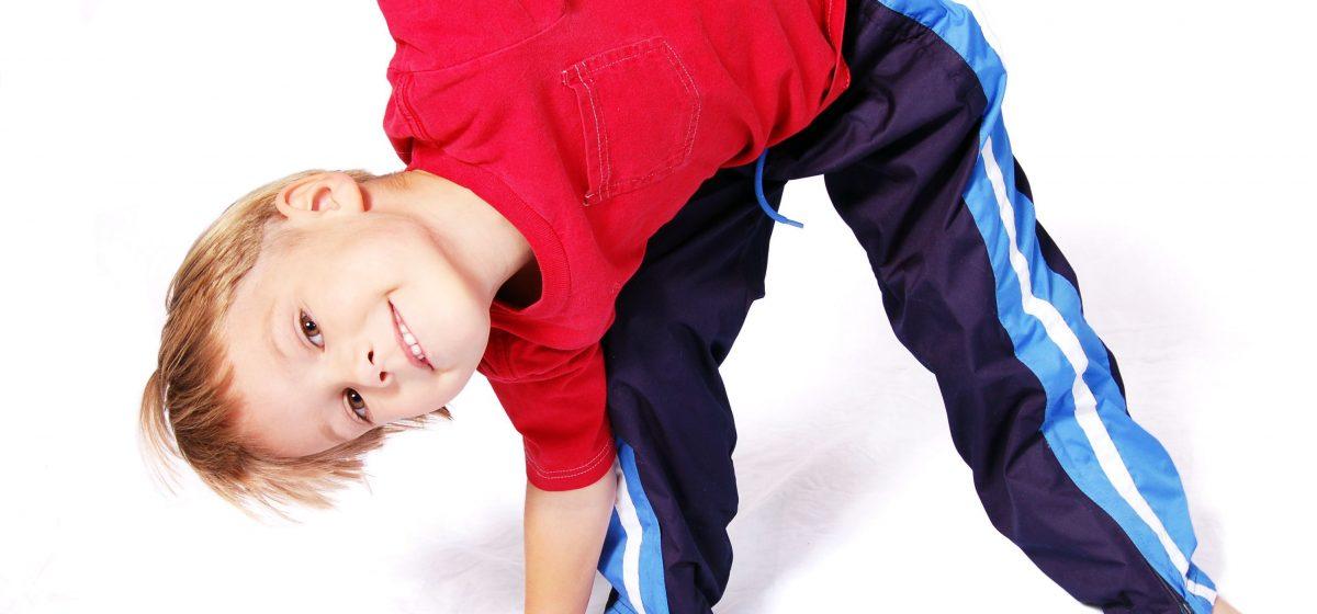Boy-leaning